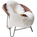 Faux White Sheepskin Rug | M&W - Image 3