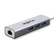 Approx (APPC07GHUB) USB 3.0 to Gigabit Ethernet Adapter & 3-Port USB 3.0 Hub