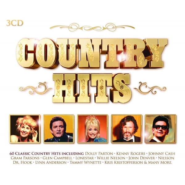Various Artists - Country Hits CD