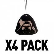 (4 Pack) Kylo Ren (Star Wars) Official Disney Car/Home Air Freshener