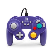Wired Gamecube Purple Controller for Nintendo Switch [Damaged]