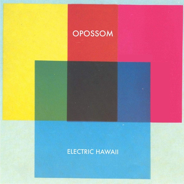 Opossom ‎– Electric Hawaii Opaque Yellow Vinyl