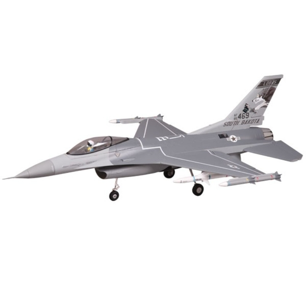 FMS 875MM F16C Fighting Falcon 70MM EDF V2 ARTF Grey