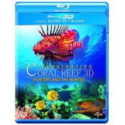 Fascination Coral Reef 3D Hunters And The Hunted  Blu-ray