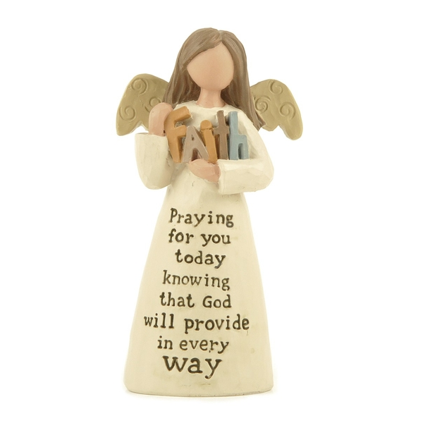 Praying For You Angel Decoration By Heaven Sends