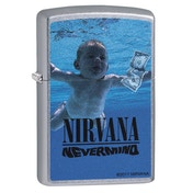 Zippo Nirvana Nevermind Chrome Regular Windproof Lighter