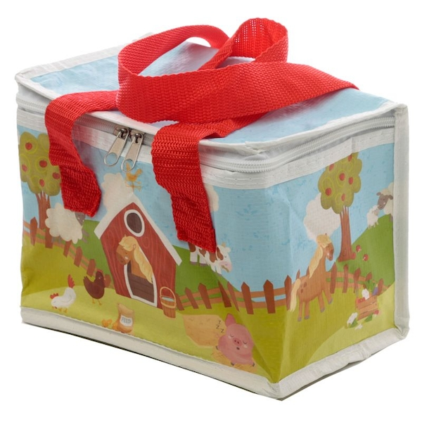 Brambly Bunch Farm Woven Cool Bag Lunch Box