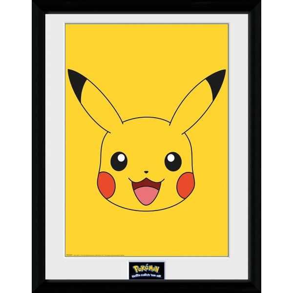 Pokemon Pikachu Face Collector Print