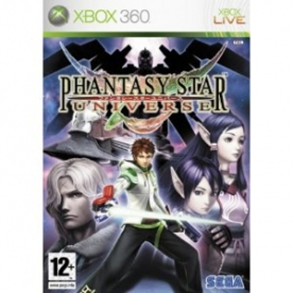 Phantasy Star Universe Game Xbox 360
