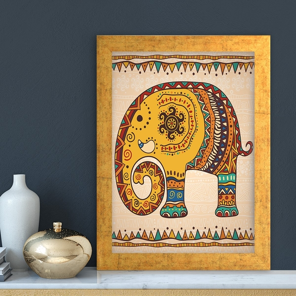 AC373232290 Multicolor Decorative Framed MDF Painting