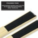 Japanese Bamboo Folding Fans - Pack of 10 | Pukkr - Image 5
