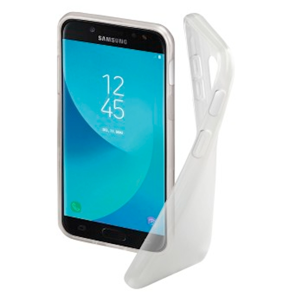 """Hama """"Crystal Clear"""" Cover for the Samsung Galaxy J5 (2017), transparent"""