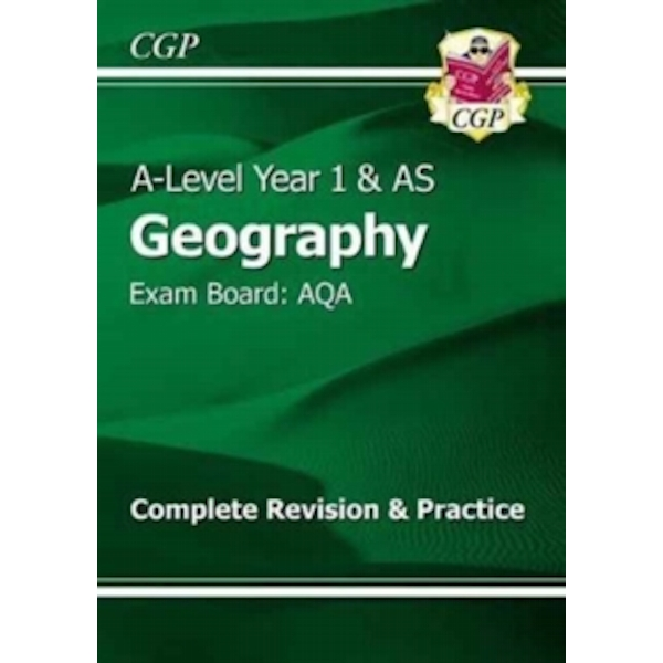 New A-Level Geography: AQA Year 1 & AS Complete Revision & Practice by CGP Books (Paperback, 2017)