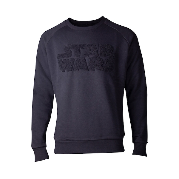 Star Wars - Chenille Logo Men's X-Large Sweater - Black