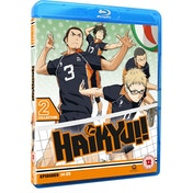 Haikyu!! Season 1: Collection 2 (Episodes 14-25) Blu-ray