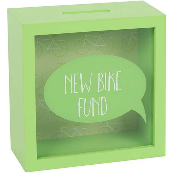 New Bike Fund Money Box