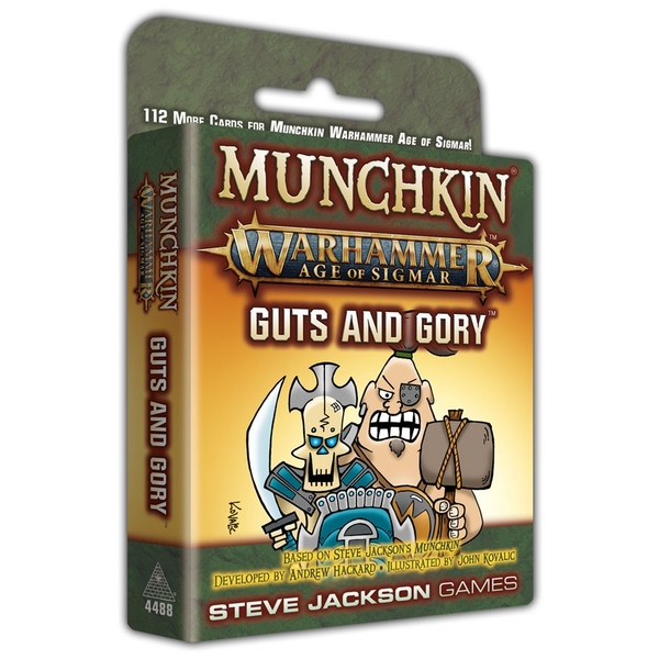 Munchkin: Warhammer Age of Sigmar - Guts And Glory Expansion Card Game