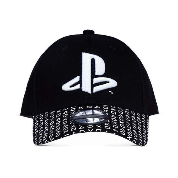 Sony - Logo Baseball Cap - Black/White
