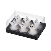 Ghost Candle Tea-Light by Heaven Sends (Set Of 6)