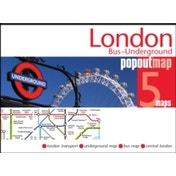 London Bus and Underground PopOut Map