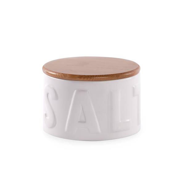 Salt Pig with Bamboo Lid | M&W