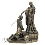 King Arthur The Accolade Bronze Figurine