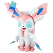 Ex-Display Pokemon Sylveon 8 inch Collectable Plush Toy Used - Like New
