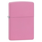 Zippo Regular Pink Matte Lighter