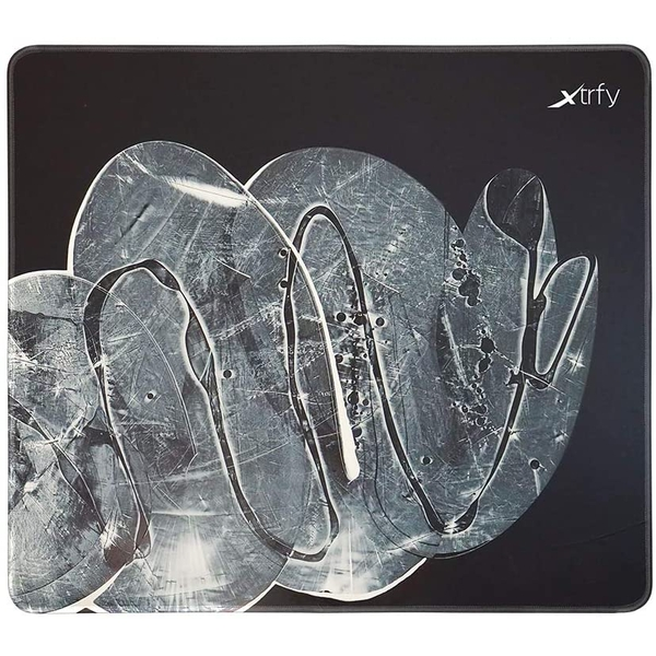 Image of Xtrfy GP4 Large Surface Gaming Mouse Pad, Cloud White, Cloth Surface, Non-slip Base, Washable, 460 x 400 x 4 mm