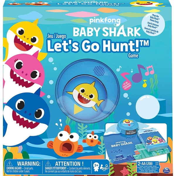 Pinkfong Baby Shark - Lets go Hunt Game