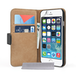 Caseflex iPhone 6 / 6s Real Leather Wallet Case - Black - Image 2