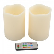 Remote Control Rainbow Candles