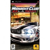 Midnight Club LA Remix Game PSP