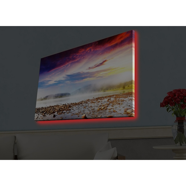 4570HDACT-036 Multicolor Decorative Led Lighted Canvas Painting