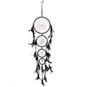 Black 4 Drop Dreamcatcher