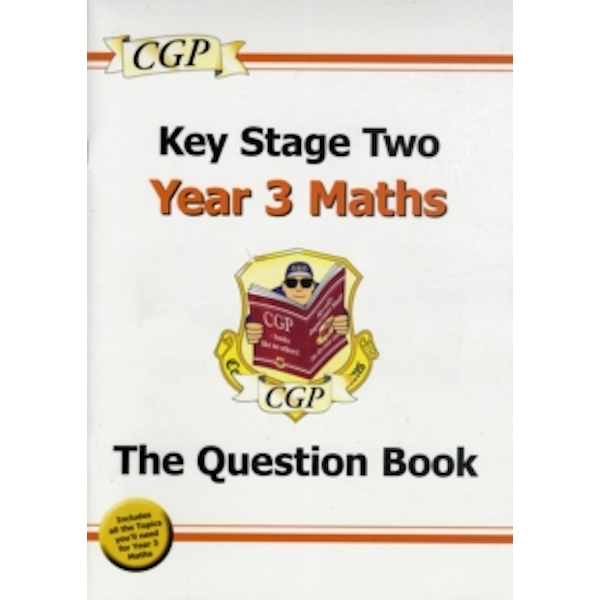 KS2 Maths Question Book - Year 3 by CGP Books (Paperback, 2008)