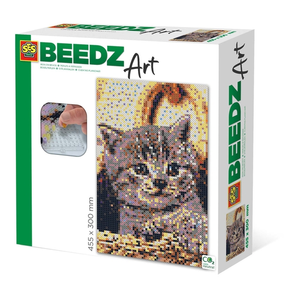 SES CREATIVE Cat Beedz Art Mosaic Kit