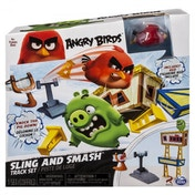 Sling and Smash Angry Birds Attack on Pig Island Playset