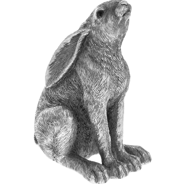 Reflections Silver Gazing Hare
