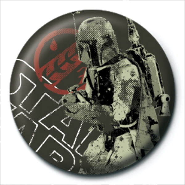 Star Wars - Boba Fett Distressed Badge