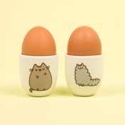 Thumbs Up! Pusheen - Egg Cups Set of 2 (Stormy & Pusheen)