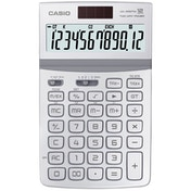 Casio JW-200TW-WE 12 Digit Desk Calculator with Tilt Display - White