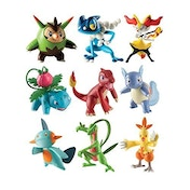 Pokemon Action Pose Figure Assorted 3 Pack