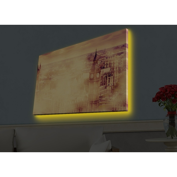 4570HDACT-018 Multicolor Decorative Led Lighted Canvas Painting