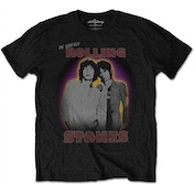 The Rolling Stones Mick & Keith Men's XX-Large T-Shirt -Black