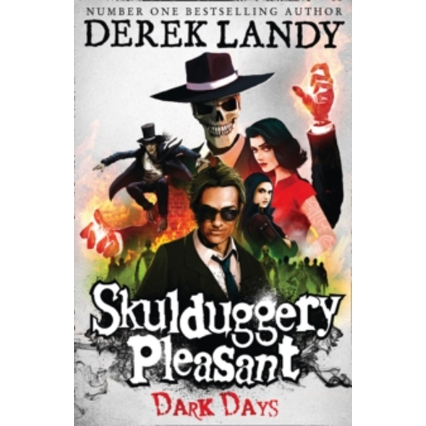 Dark Days (Skulduggery Pleasant, Book 4) by Derek Landy (Paperback, 2010)