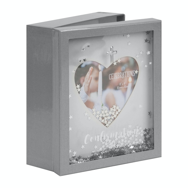 Confirmation Lidded Shadow Keepsake Box