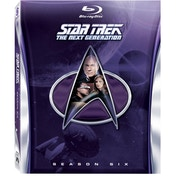 Star Trek The Next Generation Season 6 Blu-ray