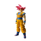 Son Goku Super Saiyan God Cheveux Rouge (Dragon Ball Z) Bandai Tamashii Nations Figuarts Figure