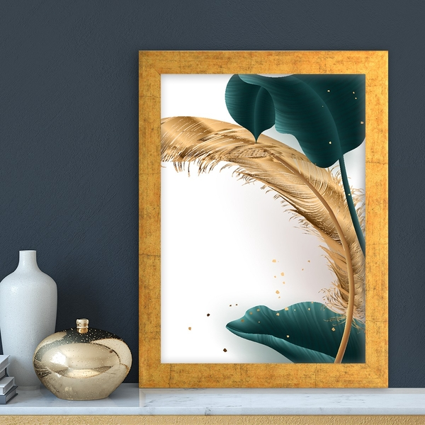 AC13953999323 Multicolor Decorative Framed MDF Painting